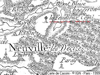 Maison du Temple de Feuilloux