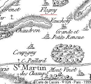 Vignoble du Temple à Flegny