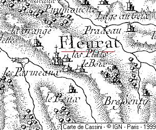 Cure et château du Temple de Fleurat