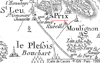 Domaine du Temple de Saint-Prix