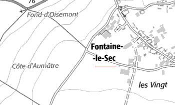 Domaine du Temple de Fontaine-le-Sec