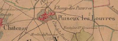 Bien du Temple à Puisieux-en-France