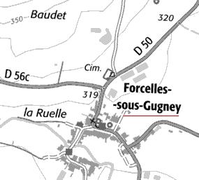 Domaine du Temple à Forcelles-sous-Gugney