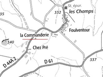Maison du Temple de Foulventour