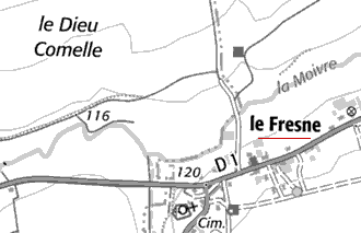 Domaine du Temple Le Fresne