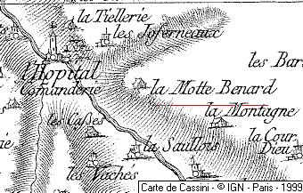 Bien du Temple à Bois et lieu de La Motte