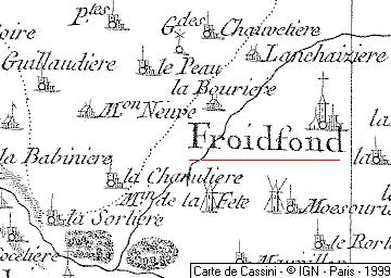 Domaine du Temple de Froidfond