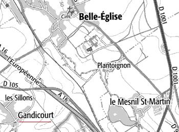 seigneurie du Temple de Gandicourt