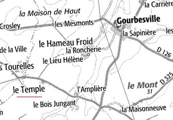 Maison du Temple de Gourbesville