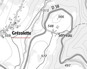 Domaine du  Temple à Grezolette