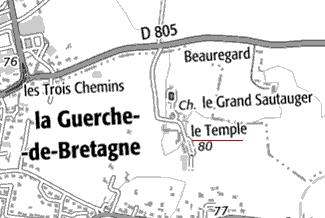 Maison du Temple de la Guerche