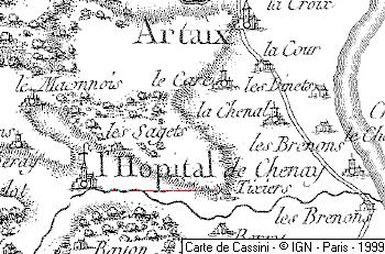 Hôpital de Saint-Jean de Chenay