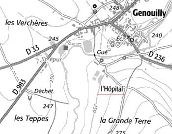 Domaine de l'Hôpital Saint-Jean de Genouilly
