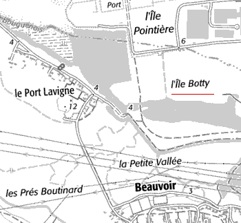 Domaine du Temple de l'île Botty