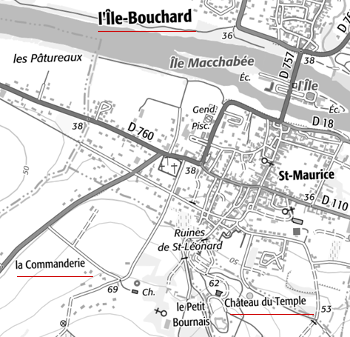 Maison du Temple de l'Ile-Bouchard