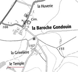 Le Temple de Baroche-Goudouin