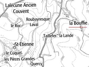 Domaine du Temple de La Bouffie