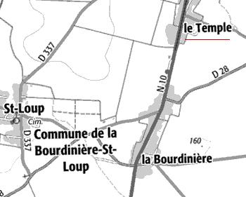Le Temple de la Bourdinière-Saint-Loup