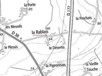 Domaine du Temple de La Rablais