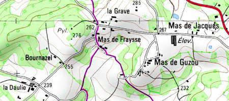 Domaine du Temple à Mas de Fraysse