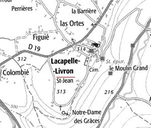 Maison du Temple de Lacapelle-Livron