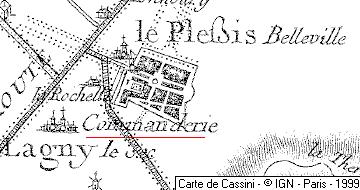 Maison du Temple de Lagny le Sec