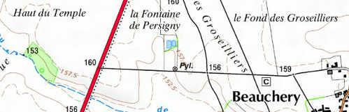 Bien du Temple à La Grange de Pressigny