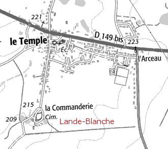 Maison du Temple de Lande Blanche