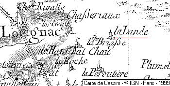 Maison du Temple de La Lande à Lorignac