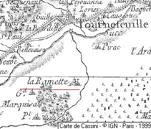 Maison du Temple de Laramet ou Laramée