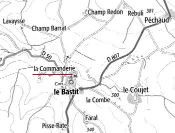 Maison du Temple le Bastit