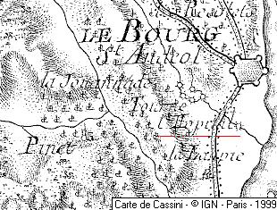 Domaine du Temple Le Boug-Saint-Andéol