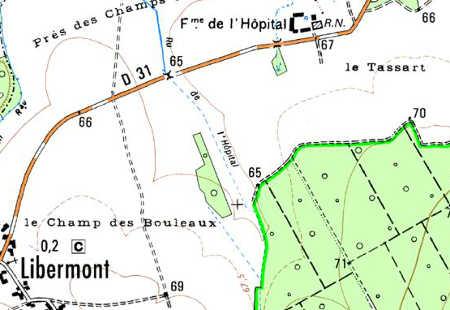 Maison du Temple Le Bois près Libermont