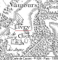 Domaine du  Temple à Livry-Gargan