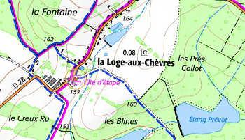 Domaine du Temple de La Loge-aux-Convers
