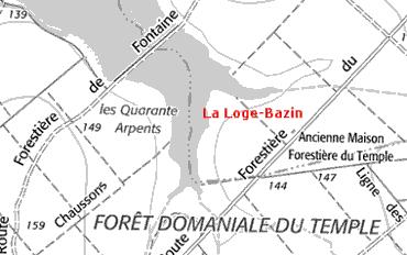 Maison du Temple de La Loge-Bazin