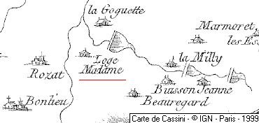 Maison du Temple de La Loge-Madame