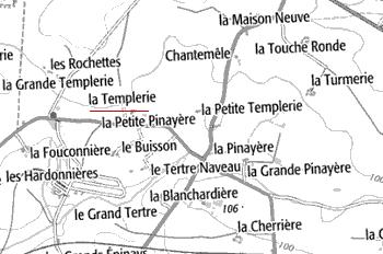La petite et la grande Templerie de Longuefuye