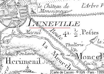 Domaine du  Temple de Lunéville
