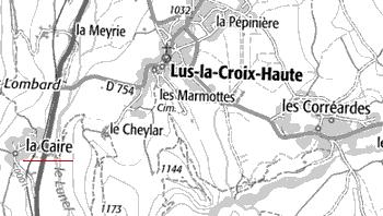 Maison du Temple de Lus-La-Croix-Haute