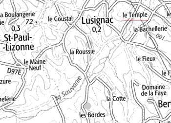 Le Temple de Lusignac