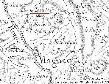 Maison du Temple de Magnac