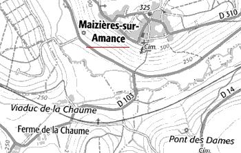Domaine du Temple de Maizières-sur-Amance
