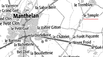 Domaine du Temple de Manthelan