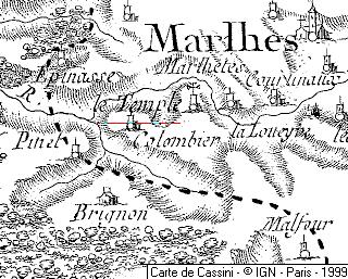 Maison du Temple de Marlhettes