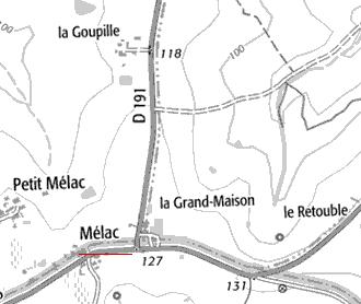 Chapelle du Temple de Mélac