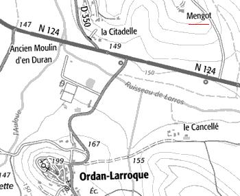 Fief du Temple de Mengot, Gers