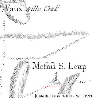 Maison du Temple de Mesnil-Saint-Loup