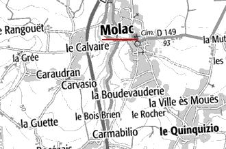 Domaine du Temple de Molac