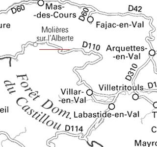Domaines du Temple de Molières